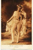 8522 - Spectacles - ARTISTES : Marthe ALEXANDRE (Scala)- édit. C. Jeangettte ,Paris  Circulée En1906 - Artistes
