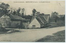 28, Eure Et Loire, MONTLOUET, Environs De Gallardon, La Chapelle St Léonard, Scan Recto-Verso - Autres Communes