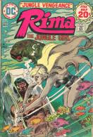 Rima The Jungle Girl N° 5 - En Anglais - Joe Kubert - Déc Jan 1974 / 75 - Bon état - DC
