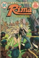 Rima The Jungle Girl N° 3 - En Anglais - Joe Kubert - Août / Septembre 1974 - Bon état - DC