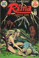 Rima The Jungle Girl N° 2 - En Anglais - Joe Kubert - Juin / Juillet 1974 - Bon état - DC