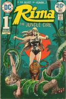 Rima The Jungle Girl N° 1 - En Anglais - Joe Kubert - Avril / Mai 1974 - Bon état - DC