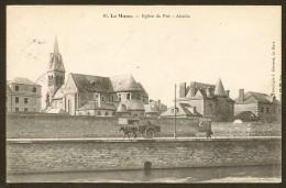 LE MANS L'Abside De L'Eglise Du Pré (Bouveret) Sarthe (72) - Le Mans
