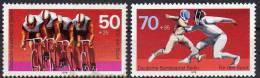 II. Quartal 1978 Luftfahrt Sport Charite-Arzt Graefe Berlin 563-569 O 7€ Fechten Radsport Used Stamps Set Of Germany - Stamps