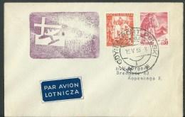 15.V. 1939. AIRMAIL.  FIRST FLIGHT GDYNIA--KOPENHAGA - Airmail