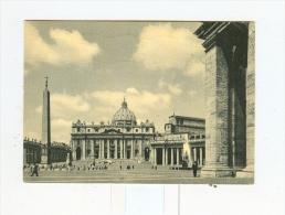 ROMA,P.za E Basilica Di S.Pietro-1959-AFFRANCATURA POSTE VATICANE- - Altri Monumenti, Edifici