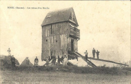 SOREL (Somme) : Les Ruines D'un Moulin - Francia