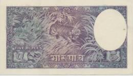 NEPAL  P. 5 5 M 1951 UNC - Nepal