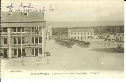 CPA  HUSSEIN-DEY, Cour De La Caserne Lemercier 2e Génie  9199 - Altre Città