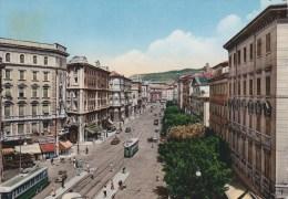 TRIESTE - Via Giosuè Carducci - Filobus - Tram - 1955 - Trieste