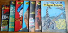 ECHO DES SAVANES ( L') Lot Des 7ers NuméroS Des Années 80 - Books, Magazines, Comics