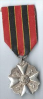 Médaille D´Argent Actes De Courage, De Dévouement Ou D´humanité /BELGIQUE/ Entre 1920 Et 1940 ?   D397 - Belgique