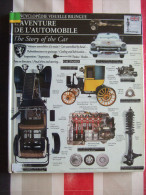 L' AVENTURE DE L' AUTOMOBILE - ENCYCLOPEDIE VISUELLE BILINGUE ( FRANÇAIS - ANGLAIS ) - - Auto