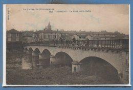 54 - NOMENY -- Le Pont Sur La Seille - Nomeny
