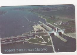 Slovenia Old Chip Phonecard - 75 Units - 06/98 - Vodne Dielo Gabcikovo - Eslovenia