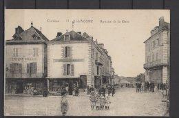 19 - Allassac - Corrèze - Avenue De La Gare - Epicerie Moderne - Epicerie Générale - Animée - Autres Communes