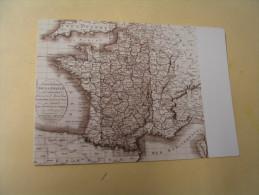 CREATION DES DEPARTEMENTS FRANCAIS.... - Landkarten