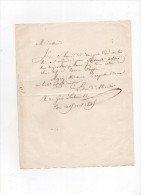 Le Duc D'abrantès.L.A.S.pour Soixante Actions Des Chemins De Fer De Paris à DIEPPE.25 AVRIL 1845.rue Du Grés Sorbonne 22 - Handtekening