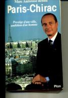PARIS CHIRAC MARC AMBROISE RENDU PLON 330PAGES  TOP 1967 400 PAGES DEDICACE - Boeken, Tijdschriften, Stripverhalen