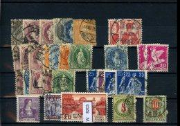 Schweiz, X, O, Div. Marken Auf A6-Karte - Schweiz