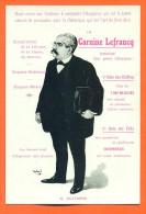 Cpa M Millerand - Carte Publicitaire Carnine Lefrancq - Illustrée Weal - Politicians & Soldiers