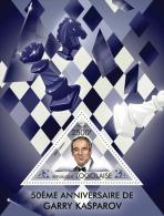 tg13419b Togo 2013 Chess 50th anniversary of Garry Kasparov s/s Horse