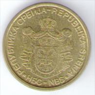 SERBIA 1 DINAR 2006 - Serbia