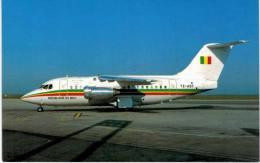 Thème -  Avion - BuchairCard 8423 - BAe 146 200 - Republic Of Mali  - Paris CDG 1983 - Format 8.5*13.5  Cm - 1946-....: Moderne