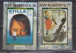 SAINT MARIN         2003   EUROPA   N°  1878 / 1879      COTE     20 € 00           ( M 188 ) - Saint-Marin
