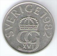 SVEZIA 5 KRONOR 1982 - Schweden