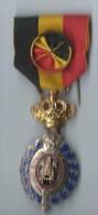 Médaille Du Travail / Or  / Avec Béliére/BELGIQUE/ Mi-  XXéme ? /       D403 - Belgique