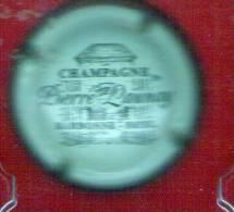 Champagne - LAUNAY Pierre  Crème Et Marron Sans Inscriptions Sur Le Contour - Champagne