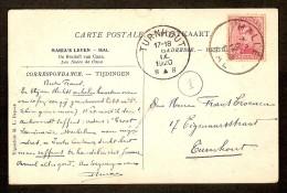 Nr. 138 Op POSTKAART Verzonden Van HAL Naar TURNHOUT Dd. 6/9/1920 - THEMA : MARIA'S LEVEN - HAL (zie Scan 2) ! - 1915-1920 Albert I
