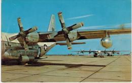 Thème -  Avion - Dexter Press - KC 130 F Hercules - Marine Corps Air Station -  Format 8.5*13.5  Cm -  VOIR ETAT - 1946-....: Moderne