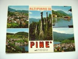ALTOPIANO DI PINE'     TRENTO VIAGGIATA  COME DA FOTO - Trento
