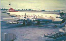 Thème -  Avion - Historical Aircraft Postcard 483 - Western L 188  -  Format 8.5*13.5  Cm - - 1946-....: Moderne