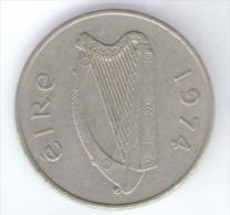 IRLANDA 10 PENCE 1974 - Irlanda