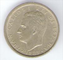 SPAGNA 100 PESETAS 1989 - [ 5] 1949-… : Regno