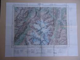 Carte De France Au 50.000e (Type 1922) - Haute Savoie - CHAMONIX   - Flle XXXVI - 30- - Mapas Geográficas