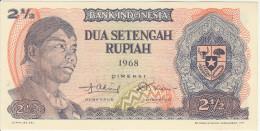 Indonesia 2.5 Rupian 1968 Pick 103 UNC - Indonésie