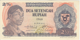 Indonesia 2.5 Rupian 1968 Pick 103 UNC - Indonesia