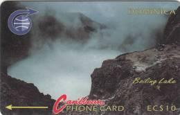 DOMINICA(GPT) - Boiling Lake, CN : 3CDMA, Tirage %35000, Used - Dominica