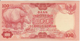 Indonesia 100 Rupian 1977 Pick 116 UNC - Indonesië