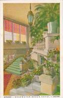 Illinois Chicago Entrance Edgewater Beach Hotel