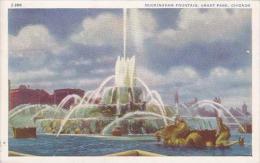 Illinois Chicago Buckingham Fountain Grant Park