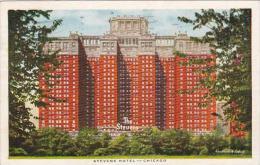 Illinois Chicago Stevens Hotel 1946