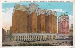 Illinois Chicago Stevens Hotel Michigan Boulevard 7th Street To