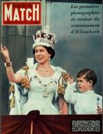 Paris Match N°221 - Le Couronnement De La Reine Elisabeth II - 13 Juin 1953 - Testi Generali