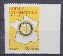Centenaire Du Rotary Internationnal Autocollant 0.53€ N°52 Neuf - Adhesive Stamps