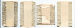 Peignes anciens /Peigne � d�crasser/ 4 pi�ces / pour  Collection/ Vall�e d�Eure/ Vers 1880-1890    PARF58
